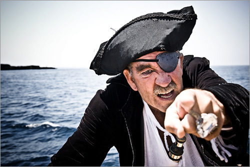 Talk like a pirate day TODAY
